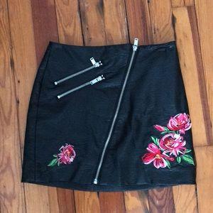H&M rose skirt